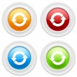 Buttons with arrow icons — Stock Vector #63216537