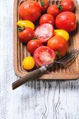 Mix of tomatoes — Stock Photo