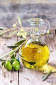 óleo de oliva — Foto Stock