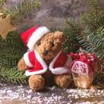 Christmas Teddy bear — Stock Photo #57985795