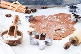Faire des cookies — Photo