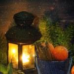 Christmas tangerines — Stock Photo #59022933