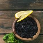 Black caviar — Stock Photo #59024281