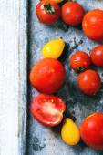 Mix of tomatoes — Stock Photo