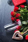 Святого Валентина поздравительных открыток — Стоковое фото