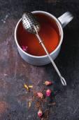 Mug of tea — Stock Photo