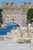 Rhodes old town — Stock Photo