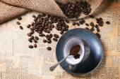 Coffee grounds — Stock Photo