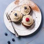 Chocolate cupcakes — Stock Photo #66949231