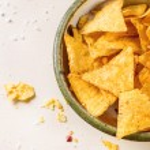 Bowl of nachos — Stock Photo #70375043