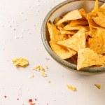 Bowl of nachos — Stock Photo #70902841