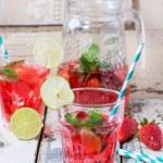 Strawberry lemonade — Stock Photo #72149735