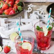 Strawberry lemonade — Stock Photo #72149869