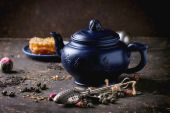 Tea and honey — Stock Photo