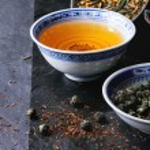 Assortment of dry tea — Stock Photo #78799842