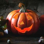 Halloween's pumpkins — Stock Photo