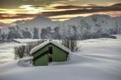 Alpin hut — Stock Photo