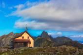 Alpin hut — Stockfoto