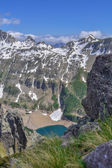 Mountain lake — Stock Photo