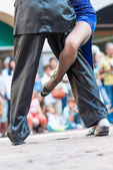 Tango in the street — Stockfoto