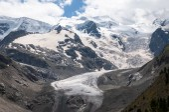Alpine glacier — Stock Photo