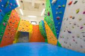 Indoor climbing training — Stock Photo
