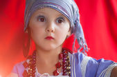 Baby fortune teller — Stock Photo