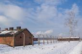 The Auschwitz-Birkenau State Museum — Stock Photo