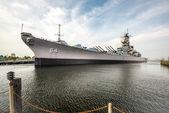 USS Wisconsin — Stock Photo