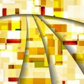抽象色彩丰富的插画 — 图库矢量图片