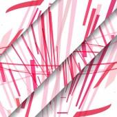 Padrão abstrato de linhas — Vetorial Stock