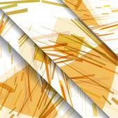 Motif abstrait de lignes — Vecteur
