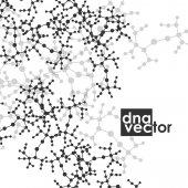 Molekula pozadí obrázku — Stock vektor
