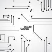 Circuit board background — Stock Vector
