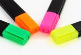 Multicolor children markers — Stock Photo