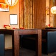 Interior in sushi restaurant — Stock Photo #70671777