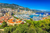 The beautiful city of Monte Carlo,Monaco,Cote d'Azur,Europe — Stock Photo