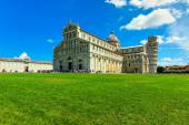 Cathedral and leaning tower of Pisa,Italy,Europe — Stock Photo