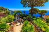 Ornamental suspended garden,Rufolo garden,Ravello,Amalfi coast,Italy,Europe — ストック写真