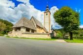 Church of St John the Baptist, near Bohinj Lake,Slovenia — ストック写真