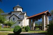 Monastic church — Stock Photo