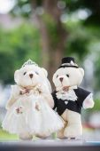 Wedding doll — Stock Photo