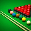 Snooker balls set — Stock Photo #61681427