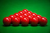 Snooker balls set — Stock Photo