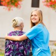 Professional Elderly Care — Stock Photo #56414159