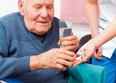 Mental Illness in the Elderly — Stock Photo
