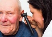 Going To The Audiologist — Stock Photo