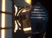 Studio Spotlight or Stage Light — Stock Photo