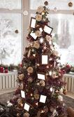 Vackra jul dekorationer bakgrund — Stockfoto