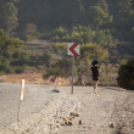 Mountain road in Turkey — Stock Photo #63105185